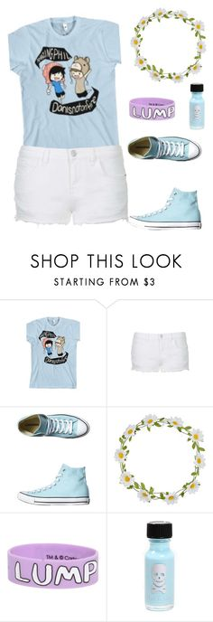 """Dan and Phil!"" by nancyricothemusiclover ❤ liked on Polyvore featuring Topshop, Converse and Carole"
