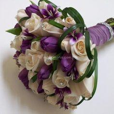 Bouquet de rosas y tulipanes de Artnat Florería | Foto 4