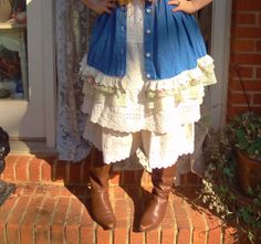 Victorian Bloomers  Mori Girl Downton Abbey by BerthaLouiseDesigns, $39.95