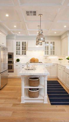 Kitchen Room Design, Kitchen Cabinet Design, Kitchen Redo, Modern Kitchen Design, Home Decor Kitchen, Interior Design Kitchen, Boho Kitchen, Kitchen Designs, Kitchen Storage