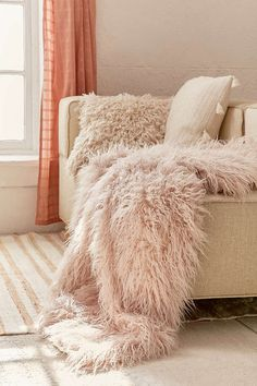 Shop Faux Lamb Fur Throw Blanket at Urban Outfitters today. We carry all the latest styles, colors and brands for you to choose from right here. Wood Room Divider, Fur Throw, Fleece Throw, Throw Pillows, Bedroom Styles, My New Room, Home Decor Items, Decoration, Bedding Sets