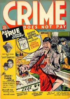 Crime Does Not Pay (Volume) - Comic Vine