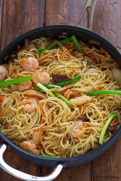 Pei Wei Shrimp Lo Mein Copycat