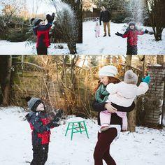 Zimowa sesja zdjęciowa Happy Family, Adoption, Foster Care Adoption