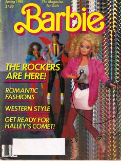 Barbie magazine - had a subscription one year.