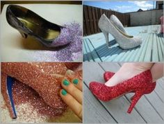 Customize Your High Heel Shoes | So Creative Things | Creative DIY Projects