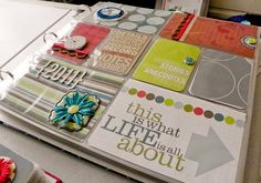 Mighty Crafty: Reflections on Project Life