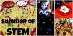 Summer of STEM @ the Library: A summer's worth of activities for ages 5-6 all rooted in STEM literacy.