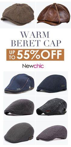2e730e6e057 Mens Warm Beret Cap Collection.  cap  outdoor  menswear  mensfashion Beret  Homme