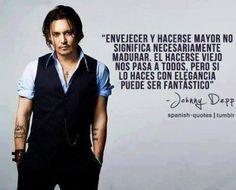 Jhoni Deep, Johnny Depp Frases, Rocky Horror, So True, Quotes, Mens Tops, Marlon Brando, Blood, Marvel