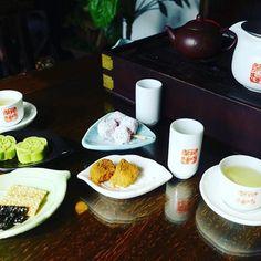 阿妹茶樓で、中国茶を嗜む🍵 #台湾 #台湾🇹🇼 #九份 #阿妹茶樓 #中国茶
