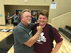 Bryce King and his grandpa Danny have taken their love for bowling and turned it into a college education! #BowlingEducation