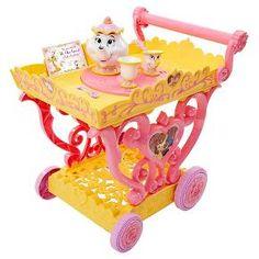 Disney Princess Belle Musical Tea Party Cart : Target