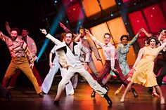 http://triangleartsandentertainment.org/wp-content/uploads/2017/02/SaturdayNightFeverPHOTO1-BSSandNCT2017.jpg - You Should Be Dancing! Saturday Night Fever: The Musical Plays Raleigh Feb. 14-19 -  You should be — and you will be — dancing! Broadway Series South and the North Carolina Theatre will present Saturday Night Fever: The Musical on Feb. 14-19 in Raleigh Memorial Auditorium in the Duke Energy Center for the Performing Arts in the heart of downtown Raleigh,
