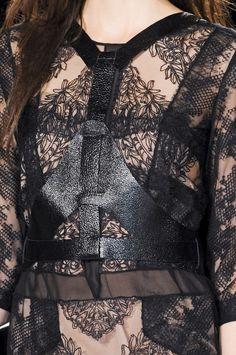 BCBG Max Azria | 2013 ♥ ♡ ❥ ❤ ღ love te details black lace always sexy !!