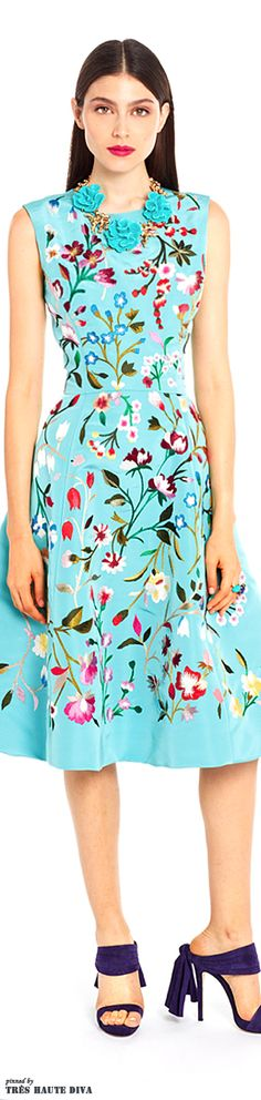 Oscar de la Renta Resort 2015 Collection