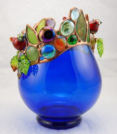 Bird and bottle sculpture Louise Nelson 2011 by Louise Nelson, via Flickr