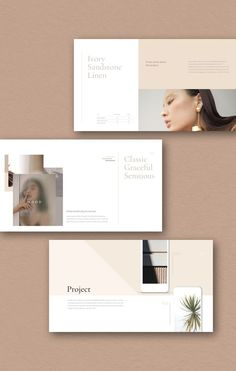 Neutral Presentation Template - Keynote - Ideas of Keynote - Neutral Presentation Template Portfolio Design Layouts, Layout Design, Layout Web, Graphisches Design, Slide Design, Template Portfolio, Presentation Layout, Presentation Templates, Effective Presentation