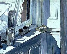 1958 Still Life (White Window) Oil on Canvas 20 x 24 inches / 50.8 x 61 cm Private Collection