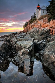 Bass Harbor Lighthouse   24 Reasons Everyone Should See Maine Before They Die