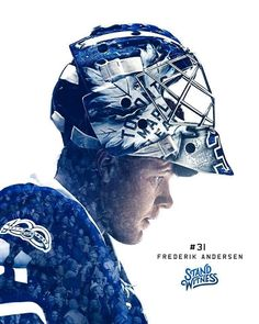 Frederik Andersen - The Season Series June 2017 Nhl Hockey Teams, Hockey Goalie, Ice Hockey, Hockey Live, Hockey Shot, William Nylander, Maple Leafs Hockey, Goalie Mask, Nhl Players