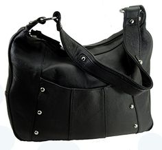 Leather Concealed Carry Gun Purse Left/Right Hand W/ Locking Zipper Black Roma Leathers http://www.amazon.com/dp/B00XK0G9MU/ref=cm_sw_r_pi_dp_qq8Nwb1H972HG