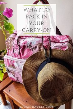 Packing your carry-on can be a lot of pressure. It is important to pack everything you need. Here are my tips on what to pack in your carry-on. Carry On Packing, Packing Tips For Travel, What To Pack, Road Trip, Cool Stuff, Ideas