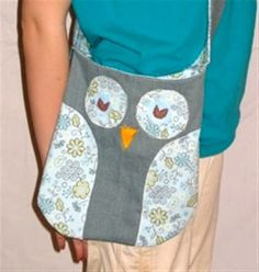 Cute Owl Bags (Grandma, if you make this I want one :) )
