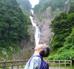 Waterfalls, really good for quenching that giant thirst.