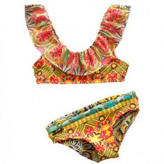 maaji ruffles reef bikini
