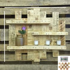 As with all reclaimed wood, there will be some slight imperfections but this only adds to the rustic character of the unit. This item is made entirely from reclaimed pallets and scaffold boards. I love the idea of saving wood ready to be thrown away and turning it into something amazing! | eBay!