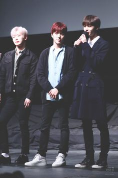 Wonho, Minhyuk & Hyungwon