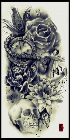 Custom tattoo designer Ben Wright | Tattoodo.com