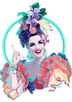 The ever-inspiring Carmen Miranda! Visit us at www.melko.com.au!