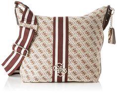 's Vintage Hobo Shoulder Bag - Multicolor - Guess Shoulder bags Bag Accessories, Diaper Bag, Vintage Ladies, Michael Kors, Beige, Shoe Bag, Pattern, Stuff To Buy, Shoulder Bags