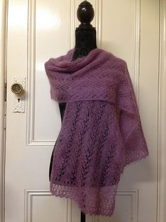 Ravelry: Nika in the Evening pattern by Dominique Trad, in mohair blend