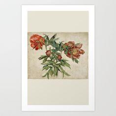 flower power Art Print by anipani - $19.00