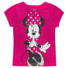 Disney� Minnie Mouse Infant Toddler Girls' Tee - Pink