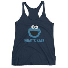 What's Kale Cookie Monster Women's tank top
