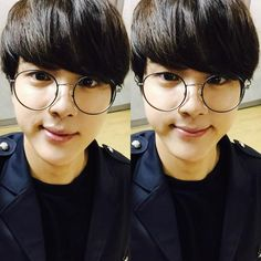 →jin in glasses is just♡