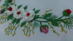 Hand embroidery designs. Embroidery tutorial.Embroidery for frocks  and ...