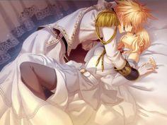 Imagini pentru anime couples in bed