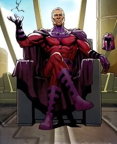 Marvelous Marvel. X-Men. Magneto, born Max Eisenhardt, also known as Magnus and Erik Lehnsherr