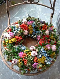 Sommerkranz aus der Blumenwerkstatt Grebenstein