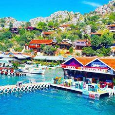Restaurant at #Kekova Island in #Antalya province #Turkey