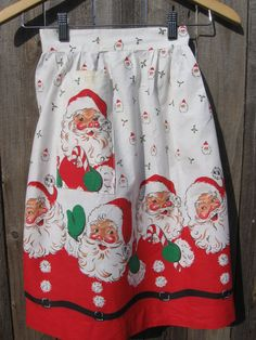 Vintage apron...reminds me of the lacy half aprons my mother had for each holiday.  All heavily starched.