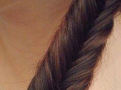 Pletení vlasů: rybí cop