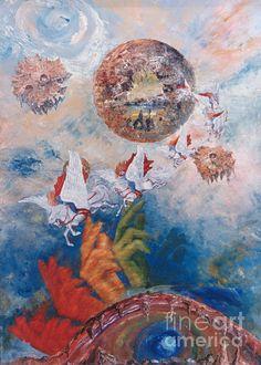 """Freedom - the beginning of all being"" © ARTdesign Di Bella  || Print on demand by Fineartamerica, direkt zu http://evamaria-di-bellaandrae.artistwebsites.com/index.html"