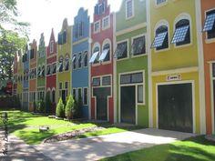 SÃO PAULO - Holambra City - Expoflora.  Dutch houses.  (7)