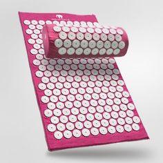 0799665070939 original BON Bed of Nails  acupressure mat pillow set pink